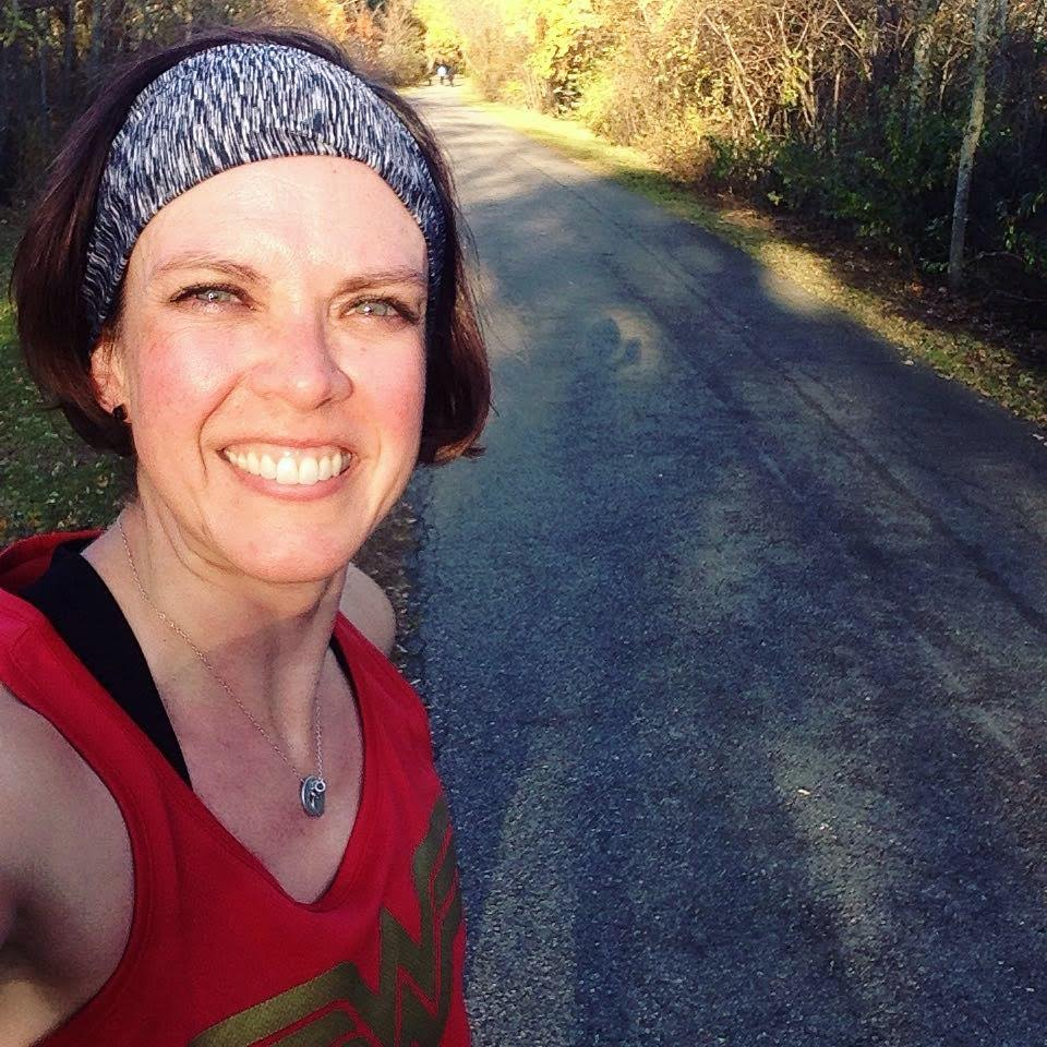 Katie ww run selfie trail