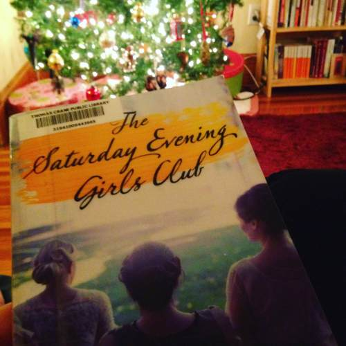 Saturday evening girls club book Christmas tree