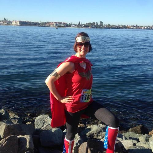 Wonder Woman run San Diego