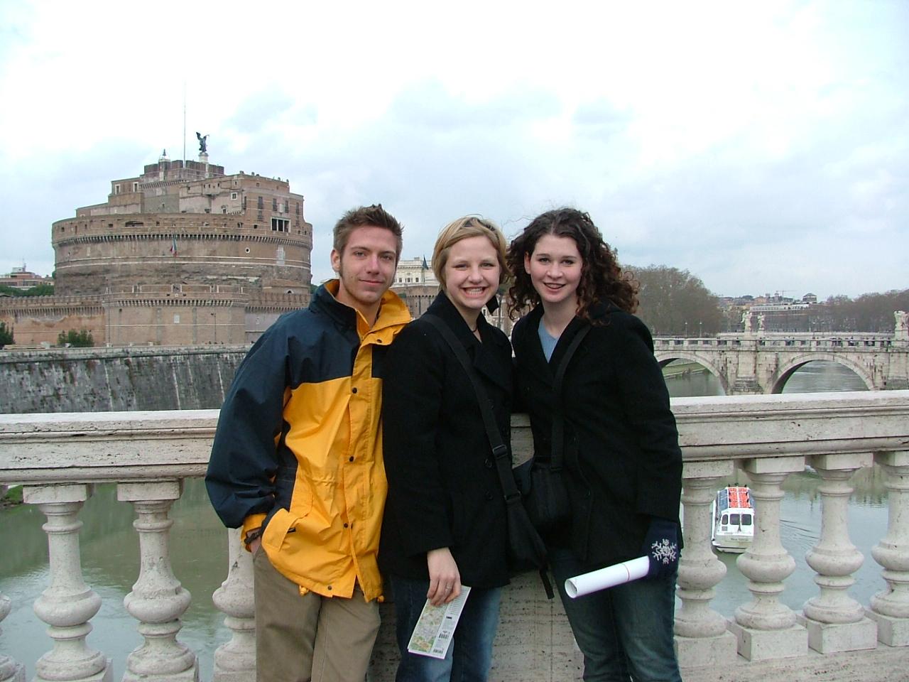 friends Rome bridge