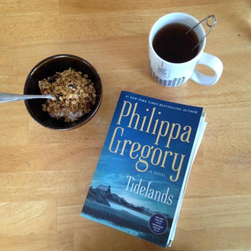 tidelands book mug bowl breakfast table