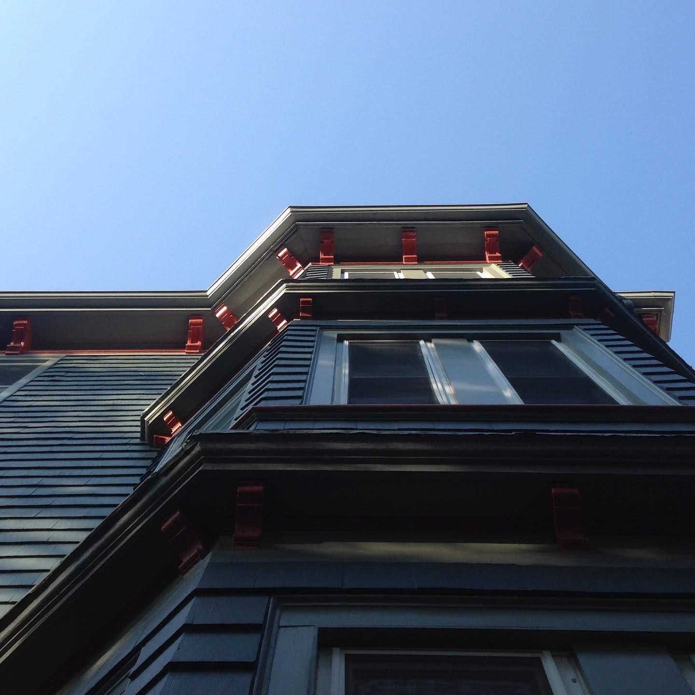 triple decker building east Boston