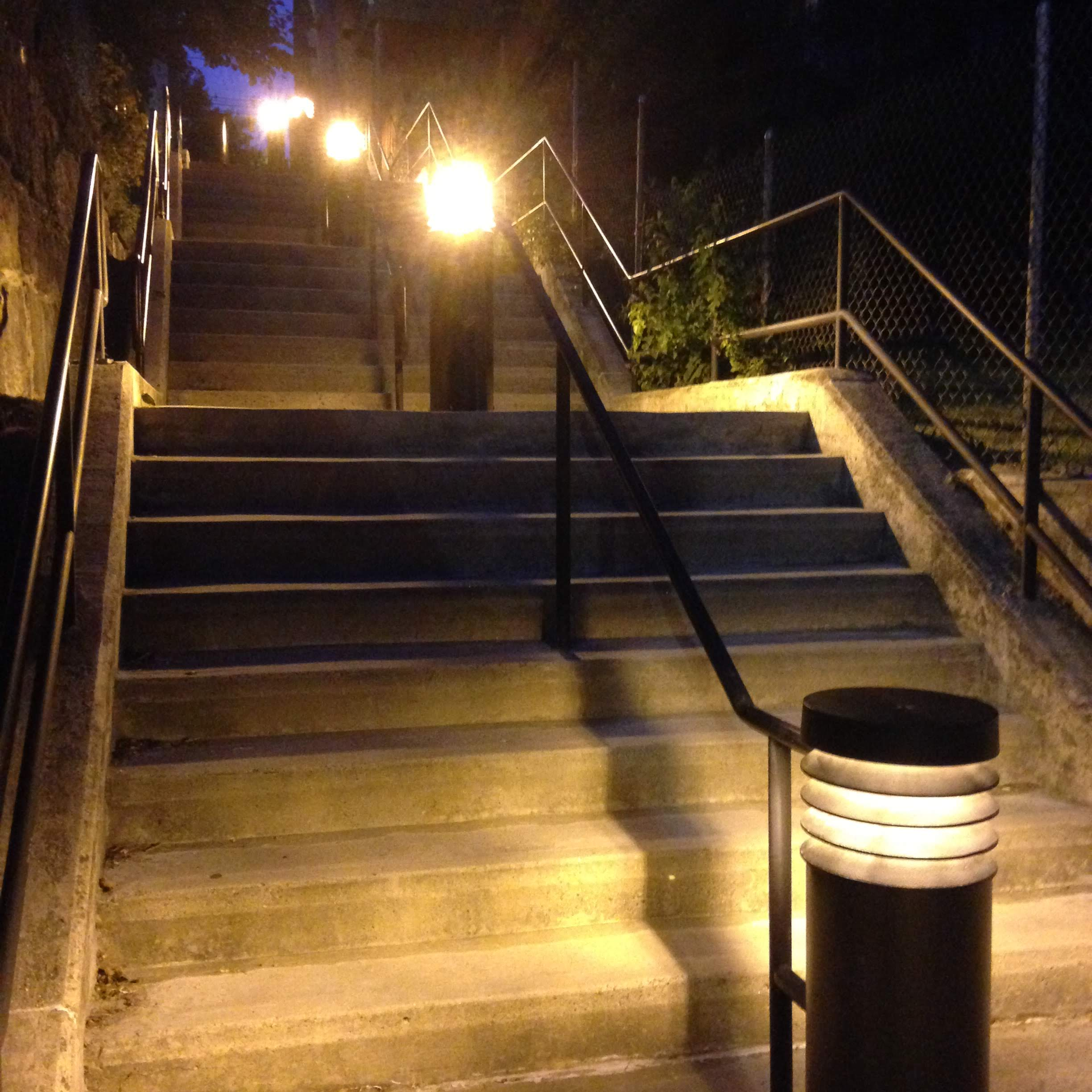 golden stairs east Boston