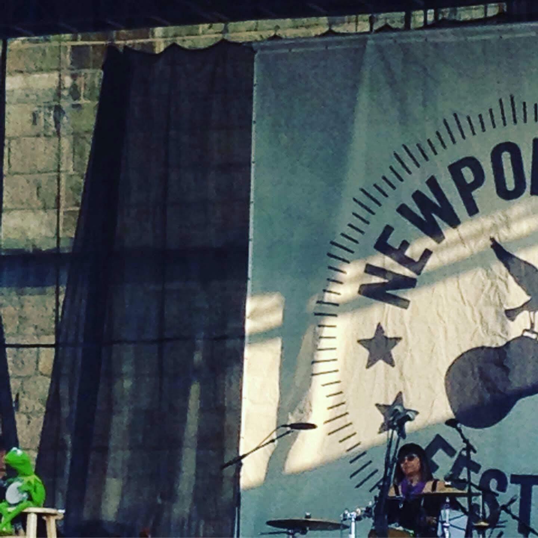kermit the frog Newport stage