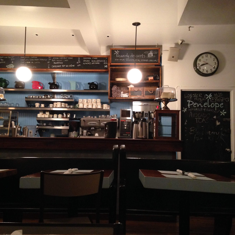 Penelope NYC interior restaurant