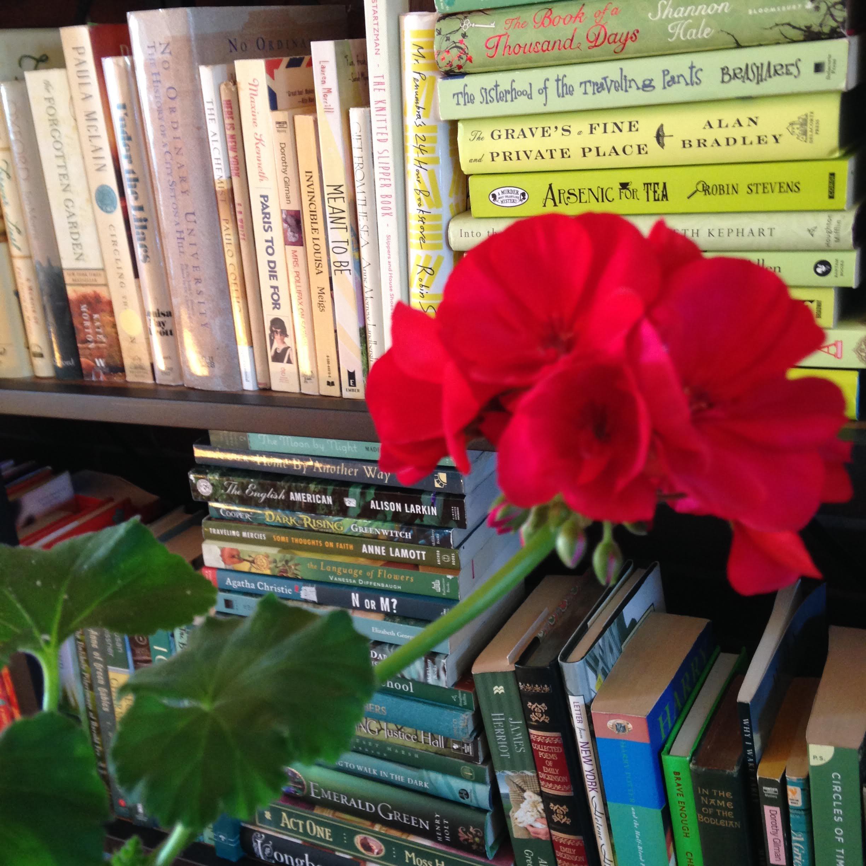 geraniums-books